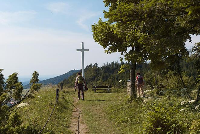 Wanderweg bei Gosheim