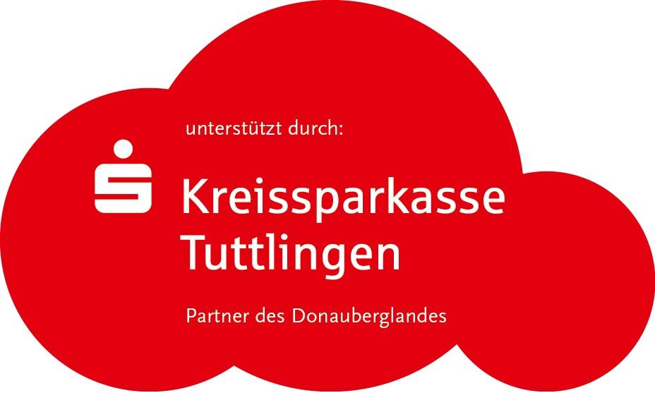 Kreissparkasse Tuttlingen Logo in einer roten Wolke