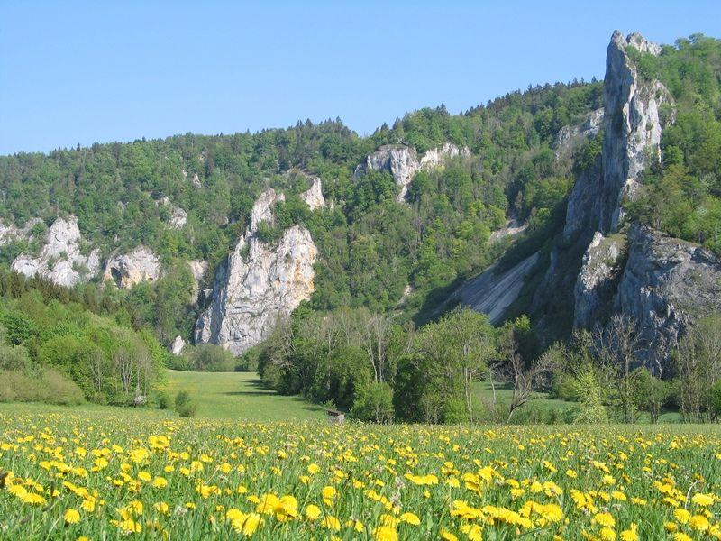 Das Donautal bei Beuron