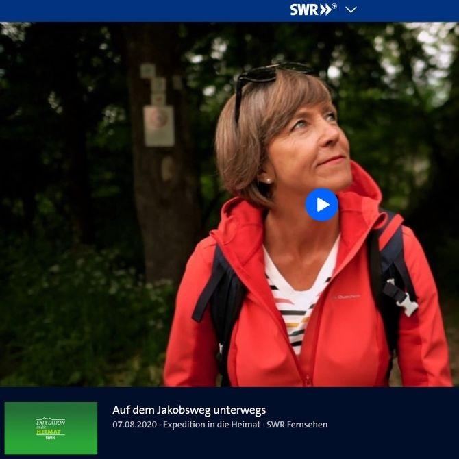 SWR-Beitrag Pilgern auf dem Beuroner Jakobsweg im Donautal; SWR-Serie Expedition in die Heimat