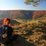 Besuch im Herbst im Donautal