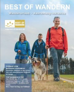 Magazin Best of Wandern Titelbild