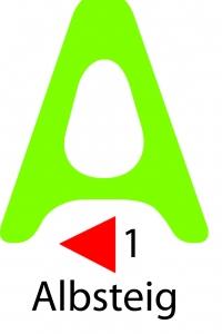 albsteig logo schwäbische alb