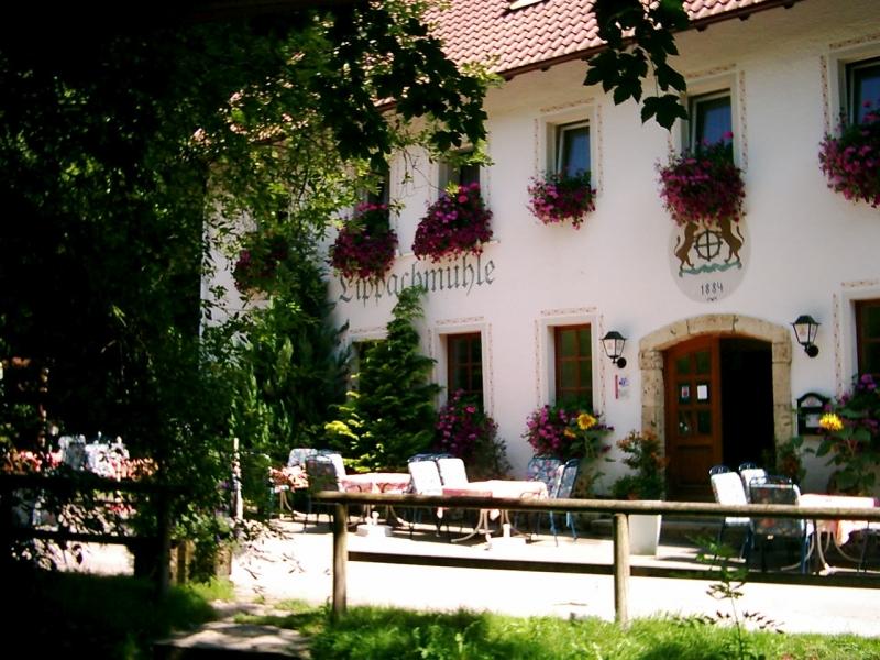 Gasthaus Lippachmühle am Donauberglandweg